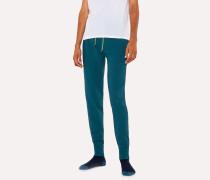 Teal Jersey Cotton Lounge Pants