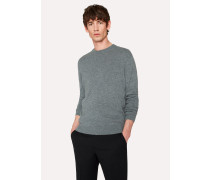 Grey Marl Cashmere Sweater