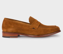 Tan Suede 'Gifford' Loafers