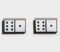 Black Domino Cufflinks