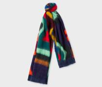 'Dreamer Stripe' Wool-Blend Scarf