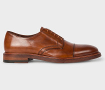 Tan Leather 'Rosen' Derby Shoes