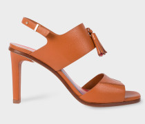 Tan Leather 'Quince' Sandals