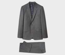 The Soho - Tailored-Fit Dark Grey Wool Suit