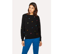 Black 'Ice Lolly' Wool Sweater