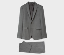 The Kensington - Slim-Fit Grey Wool Suit 'A Suit To Travel In'