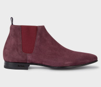 Damson Suede 'Marlowe' Chelsea Boots