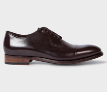 Aubergine Calf Leather 'Ernest' Shoes
