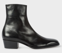 Black Leather 'Mapleton' Boots