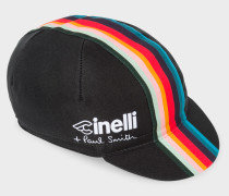 + Cinelli Black 'Artist Stripe' Band Cycling Cap