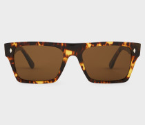 Cutler And Gross + - Honey Comb Turtle Sunglasses - Limited Edition