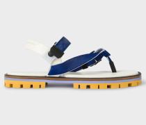 Navy 'Akela' Sandals
