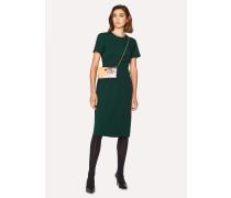 Dark Green Wool-Twill 'A Dress To Travel In'