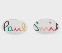 'Rainbow Signature' Cufflinks