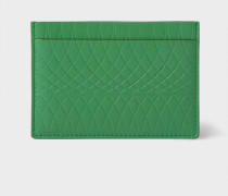 No.9 - Green Leather Card Holder
