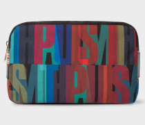 'Paul Smith' Print Canvas Wash Bag