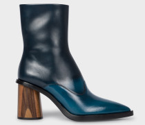 Blue Ombré Leather 'Maura' Boots