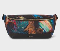 Canvas 'Explorer' Print Bum Bag