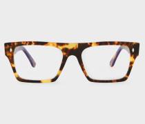 Cutler And Gross + - Honey Comb Turtle Spectacles - Limited Edition