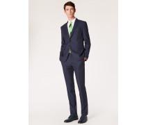 The Kensington - Slim-Fit Dark Navy Pin Dot Wool Suit