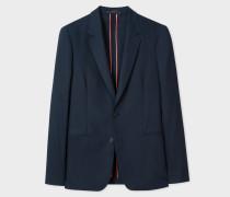 Tailored-Fit Dark Navy Loro Piana Wool Blazer