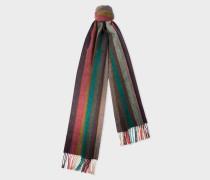'Artist Stripe' Gradient Cashmere Scarf