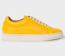 Yellow Leather 'Basso' Trainers