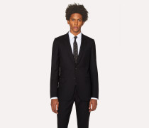 Tailored-Fit Black Wool 'A Suit To Travel In' Blazer