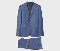 The Kensington - Slim-Fit Sky Blue Wool Suit