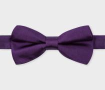 Purple Silk Bow Tie