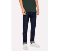 Slim-Standard 12.5oz 'Rigid Western Twill' Indigo Denim Jeans