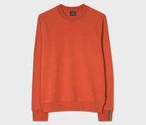 Burnt Orange Cotton Raglan Sweatshirt