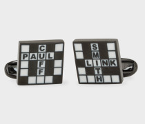 'Crossword' Cufflinks