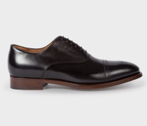 Black Leather 'Berty' Oxford Shoes