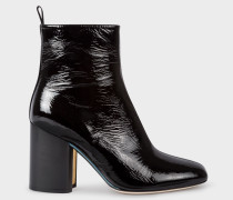 Black Patent Leather 'Egan' Boots