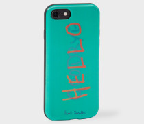 Jade Green 'Hello Goodbye' Motif Lenticular iPhone 7 Case