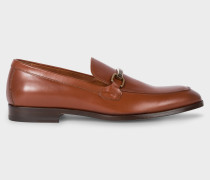 Tan Leather 'Grover' Loafers