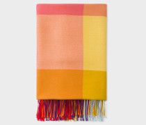 Rainbow Check Blanket
