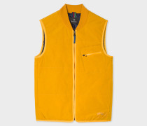 Gold Quilted 2-In-1 Gilet Liner