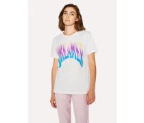 White 'Dreamer' Print T-Shirt