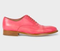 Pink Leather 'Bertie' Brogues