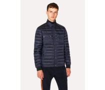 Navy Lightweight Down-Filled Jacket