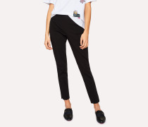Black Super-Stretch Skinny-Fit Trousers
