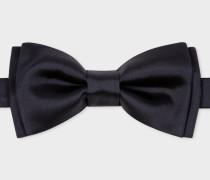 Dark Navy Pre-Tied Silk Bow Tie