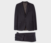 Slim-Fit Dark Navy Wool Suit