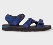 Navy 'Formosa' Webbing Sandals