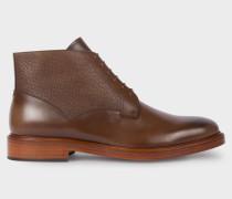 Brown Leather 'Munari' Boots