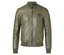 "Leather Bomber ""Classic bomber"""
