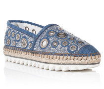 "Espadrillas ""White river"""