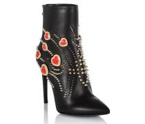 """Boots Mid Heels High """"crysta"""""""